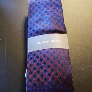 Michael Kors Accessories - NWT Michael Kors 100% Silk Necktie Tie